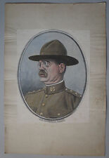 E. DAMBLANS (1865/1945)  - WW1 -    U.S  GENERAL TASKER HOWARD BLISS