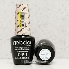 OPI GelColor Soak Off Gel - BUBBLE BATH GC S86 15 mL/0.5 oz Pink French Manicure