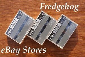 3 x TOP QUALITY TDK P5-90 / P5-100 HS Video 8 / 8mm CAMCORDER TAPES / CASSETTES