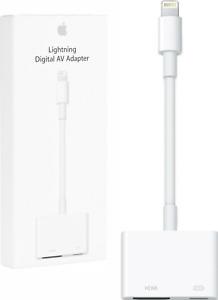 Apple Lightning Digital AV HDMI Adapter Kabel für iPhone iPad iPod MD826ZM/A