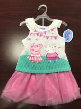 """NEW Girls Peppa Pig outfit """"Friends Forever"""" T-shirt and skort *2T*3T*4T*"""