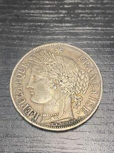 5 FRANCS ARGENT CERES 1849 BB