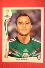 Panini BRASIL 2014 N. 82 MONTES MEXICO WITH BLACK BACK TOPMINT!!