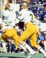 1978 NCAA QB Joe Montana Notre Dame Game Action Color 8 X 10 Photo Picture