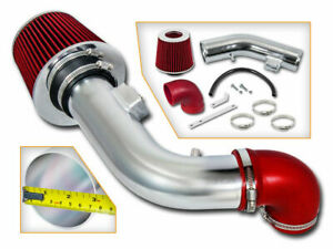 Short Ram Air Intake Kit + RED Filter for 05-07 Saturn Ion-1 Ion-2 Ion-3 2.2 2.4