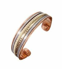 Magnetic Copper Bracelet Healing Therapy Bangle Pain Relief Cuff Arthritis