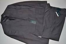 PERRY ELLIS CHARCOAL 2 BUTTON BLAZER SUIT JACKET MENS SIZE 40R 32 X 32 NEW