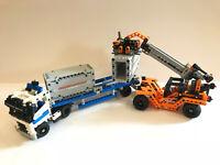 Lego Technic 42062 Container Transport Vollständig Portalkran