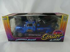 1:24 Jada Toys Lowrider 1953 Chevy Tow Truck Street Low blau # RARITÄT