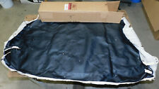 1959 1960 Ford F100 F250 Truck NOS BLACK CUSTOM CAB FRONT SEAT BACK UPPER COVER