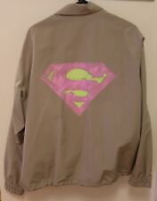 Facetasm Japan Superman Coach Jacket Size 3 Brand New with Tags