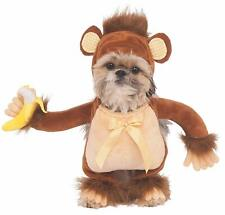 Walking Monkey Jungle Safari Animal Fancy Dress Halloween Dog Cat Pet Costume