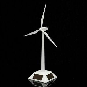 Mini Solarenergie Windmühle Windrad Windkraftanlage Modell Wohnkultur Spielzeug