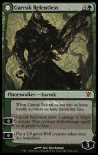 1X Garruk Relentless- Innistrad - *  English, SEE PICTURES * MTG CARD