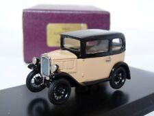 Milestone MM1 1/43 1932 Austin 7 Box Saloon Handmade White Metal Model Car