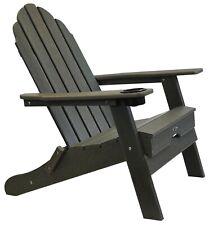 Atlas - Beach Haven Poly Adirondack Folding Chair - Color: Grey