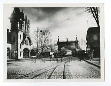 World War II France - Vintage 7x9 Publication Photograph - French Border