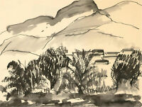 Don Hemming - Contemporary Pen and Ink Drawing, Landscape