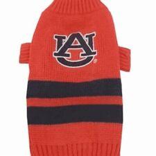 Auburn Tigers Lions NCAA Pets First Dog Pet Acrylic Winter Sweater Sizes XS-L