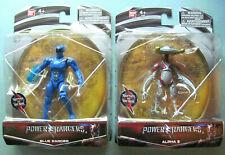Power Rangers Blue Ranger & Alpha 5 NEW NISP 2016 2 Figure Lot ~ Bandai Saban