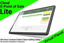Cloud Point of Sale (Lite) -Cash Register Software- Instant License Key/3 Months