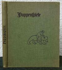 Joh. Benda - PUPPENSPIELE  1904   Buchschmuck O. Ubbelohe