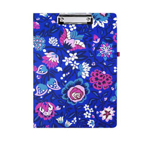 Vera Bradley Bloom Berry Hardboard Clipboard Letter Size New with Tags