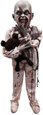 Lifesize Standing Zombie Little Boy Prop Scary Decoration Halloween Decor NEW