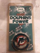 Miami Dolphins Badge. No holes its magentic. See pics for other available teams