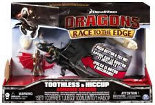 Race to the Edge Toothless & Hiccup Action Figure 2-Pack [Armored Dragon]