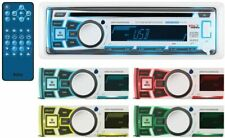 NEW! Boss Audio MR762BRGB Single DIN Bluetooth Enabled In-Dash MP3/CD/CDRW/AM/FM