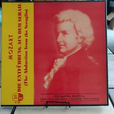 Mozart The Abduction From The Seraglio Vinyl records