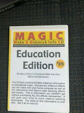 Make A Gimmick Info CD, Education Edition, Barry Mitchell, DVD, very good con.