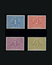 Vintage:Colombia 1929 Og Nh Scott C76-79 $ 375 Est Nh Lot# Col1929F