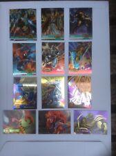 Marvel Flair 95, Marvel Metal, Fleer Ultra, Marvel Metal Blaster Cards Lot of 13