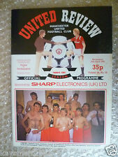 1985 MANCHESTER UNITED v SOUTHAMPTON, 24 April (League Division One)