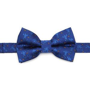 Disney Genie Scattered Blue Big Boy's Bow Tie