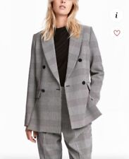 H&M blazer double breasted
