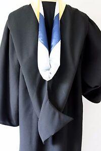 Graduation Bachelor HOOD (Blue & Silver)
