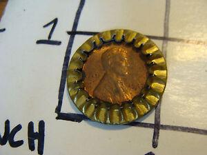 1947 S penny in K B BEER TOP