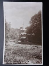 Staffordshire THE PAGODA FOUNTAIN Alton Towers c1935 RP by R. Tuck M.Z. Waddicar
