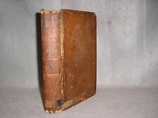 1774 Annual Register Antique Leather Book Boston Tea Party American Revolution
