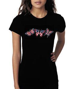 American Flag & Butterflies Shirt, Patriotic, 4th of July Shirt, Small - 5X