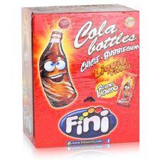 Tri Fini Cola Bottles Bubblegum Kaugummis 200 Stück in der Box (1er Pack)