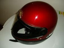 Shoei Motorbike Helmet - Burgundy - Small size - GOOD CONDITION