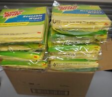 3m Scotch-Brite Kitchen & Reusable Wipes 12 Packs of 6 each total of 72 per Case