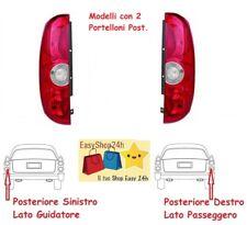 2 X FARO FANALE FANALINO POSTERIORE PER FIAT DOBLO 2010 15 2P STOP GRUPPO OTTICO