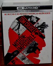 COLLECTION MISSION IMPOSSIBLE 4K ULTRA HD+BLU-RAY 10 DISQUES NEUF SANS OUVRIR R2