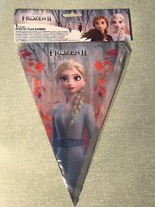 Disney Frozen II Flag Banner (approx. 2.3m long)