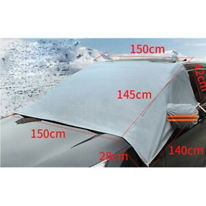 Automobile Car SUV Universal Winter Snow Frost-proof Front Sunshade Cover 1PCS